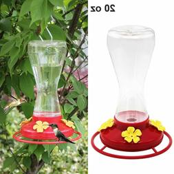 Twinkle Star 20-Ounce Hanging Hummingbird Feeder with 4 Feed