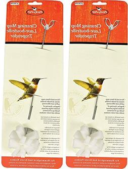 Perky Pet 2 Pack of Hummingbird Feeder Cleaning Mops