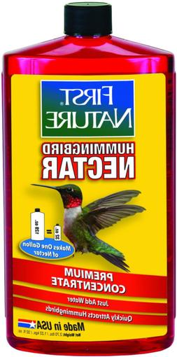 First Nature 3054 Red Hummingbird Nectar, 32-ounce Concentra