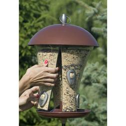 Perky-Pet 510 Easy-Fill Deluxe Wild Bird Feeder with 6 Feedi