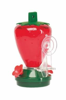 Epic International 5556 Cherry Valley 12 oz. Plastic Strawbe