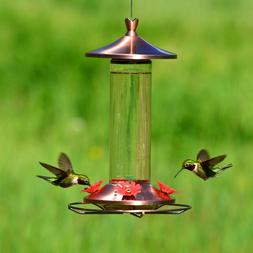 Perky-Pet 710B Elegant Copper Glass Hummingbird Feeder with
