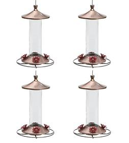 Perky-Pet 710B Elegant Copper Glass Hummingbird Feeder - 12