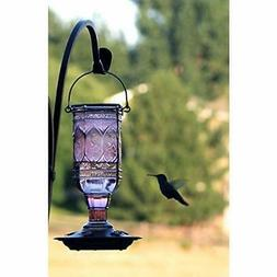 More Birds 77IN Feeder, 23 oz Nectar Capacity, Amethyst