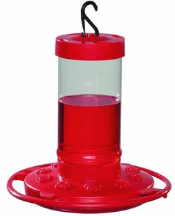 First Nature 993051-546 16 oz. Hummingbird Feeder, Red -1 Pa