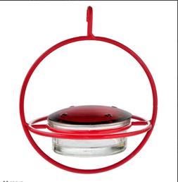 Couronne - Hanging Sphere Hummingbird Feeder with Perch - Re