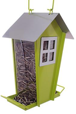 Barn Shaped Wild Bird Feeder Attract More Birds Perfect for