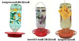 Best 32 Hummingbird Feeder 32 oz Glass Bottle