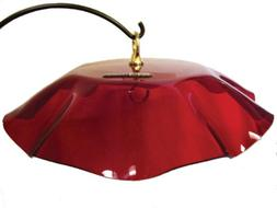 Birds Choice Bird Feeder Weather Guard Dome - Red