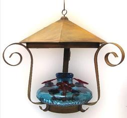 Parasol BLOOMSHAQ Bloom Shelter Hummingbird Feeder Aqua