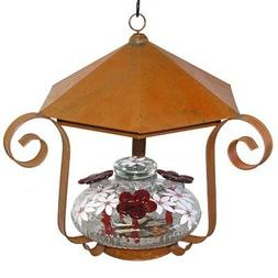 Parasol Clear Bloom Shelter Botanica Hummingbird Feeder, 16