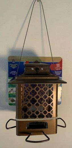 Stokes Select Bird Feeder, Metal Hopper Bird Feeder, 4 Feedi