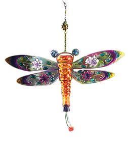 Dragonfly Hummingbird Feeder - Glass and Metal
