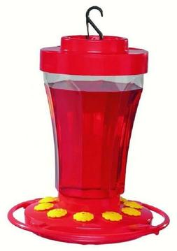 FIRST NATURE 32 oz HUMMINGBIRD FLOWER FEEDER, #3090, Made in