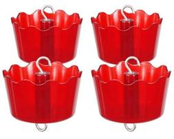 Four Pack of Audubon DefendANT Ant Guards, Red
