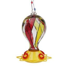 Friends of Flight Glass Balloon Hummingbird Feeder