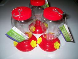 Garden Collection Hanging  Hummingbird Feeder 3 Pack