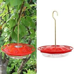 Juegoal 12 oz Hanging Hummingbird Feeder with 8 Feeding Port