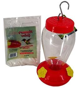 Hanging Hummingbird Feeder Starter Hummer's Galore Kit Necta
