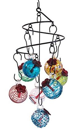 Parasol Hummingbird Feeder Droplet Package, Assorted Colors