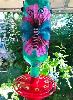 Hummingbird feeder, Metal Dragonfly, Bird feeder, Bird Lover