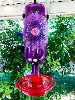 Hummingbird feeder, Metal Flower, Bird feeder, Bird Lover Gi