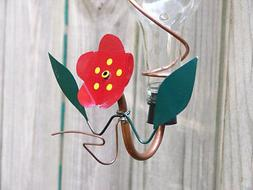 Hummingbird Feeder Parts Copper Brass Drinking Tube