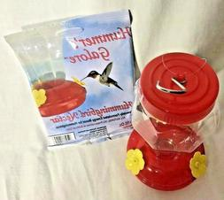 Garden Collection Hummingbird Feeder Plastic Hanging 6.75 In