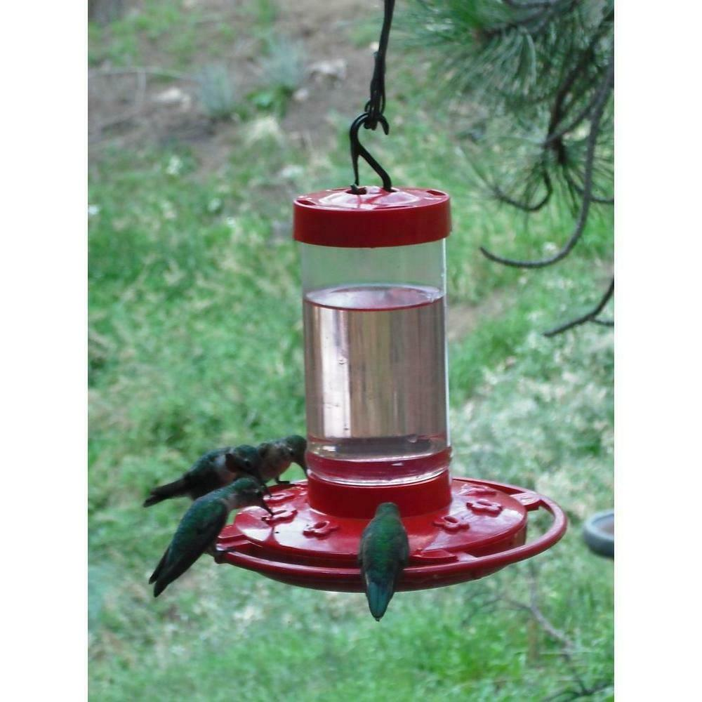 FIRST NATURE 16 oz HUMMINGBIRD FEEDER, 3051, Made in USA dm