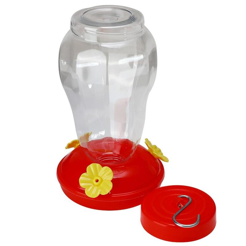 17.8*10.5*10cm Plastics <font><b>Feeder</b></font> Hanging Flower Iron <font><b>Bird</b></font> <font><b>Feeder</b></font>