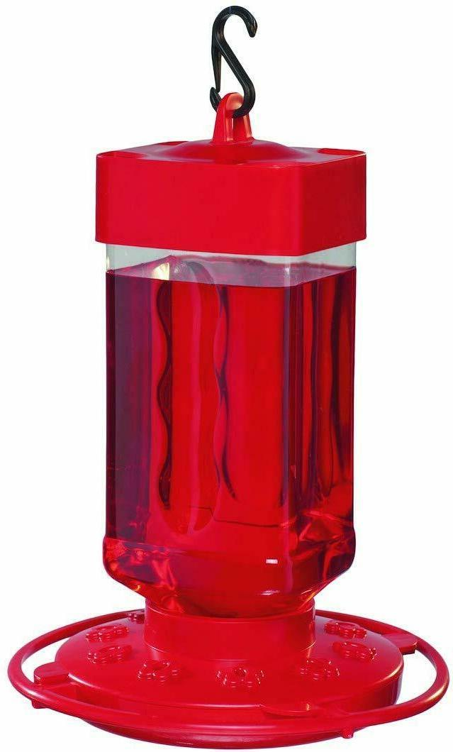 First Nature 3055 32-ounce Hummingbird Feeder Multicolor