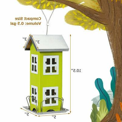 Bird Outdoor Garden Seed Hanging Feeder