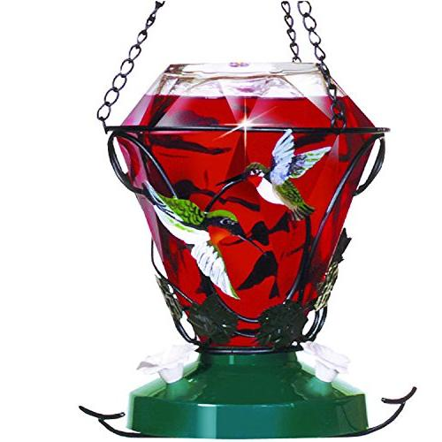 birdscapes 701 hummingbird glass