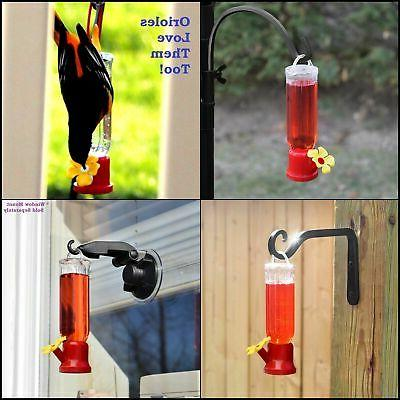 Hummingbird Mount Suction Flower Pack
