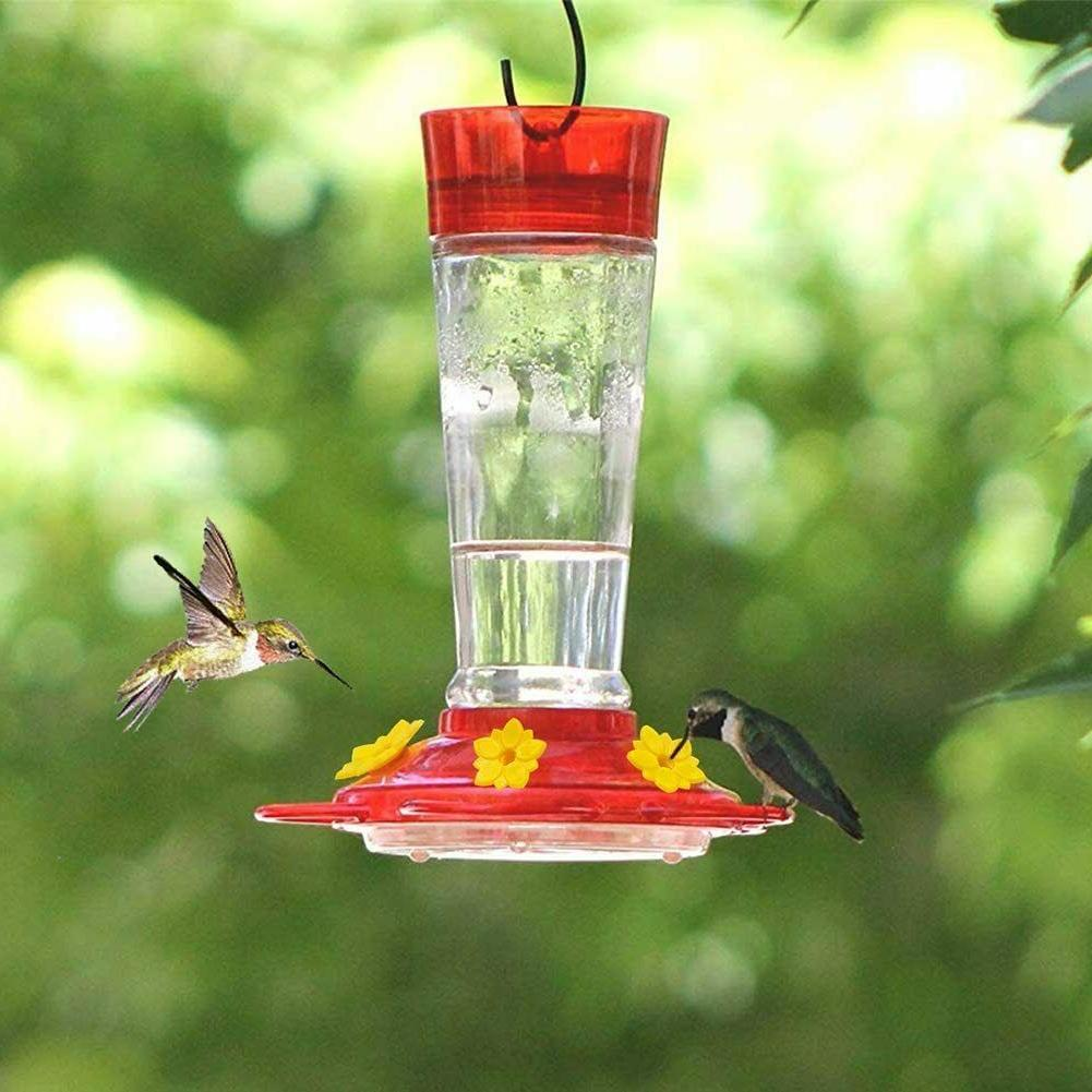Hummingbird Bird Feeders, 5 Feeding 10oz Nectar