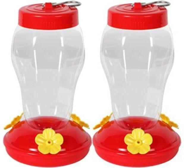 hummingbird feeder 2 pack hanging bird feeder