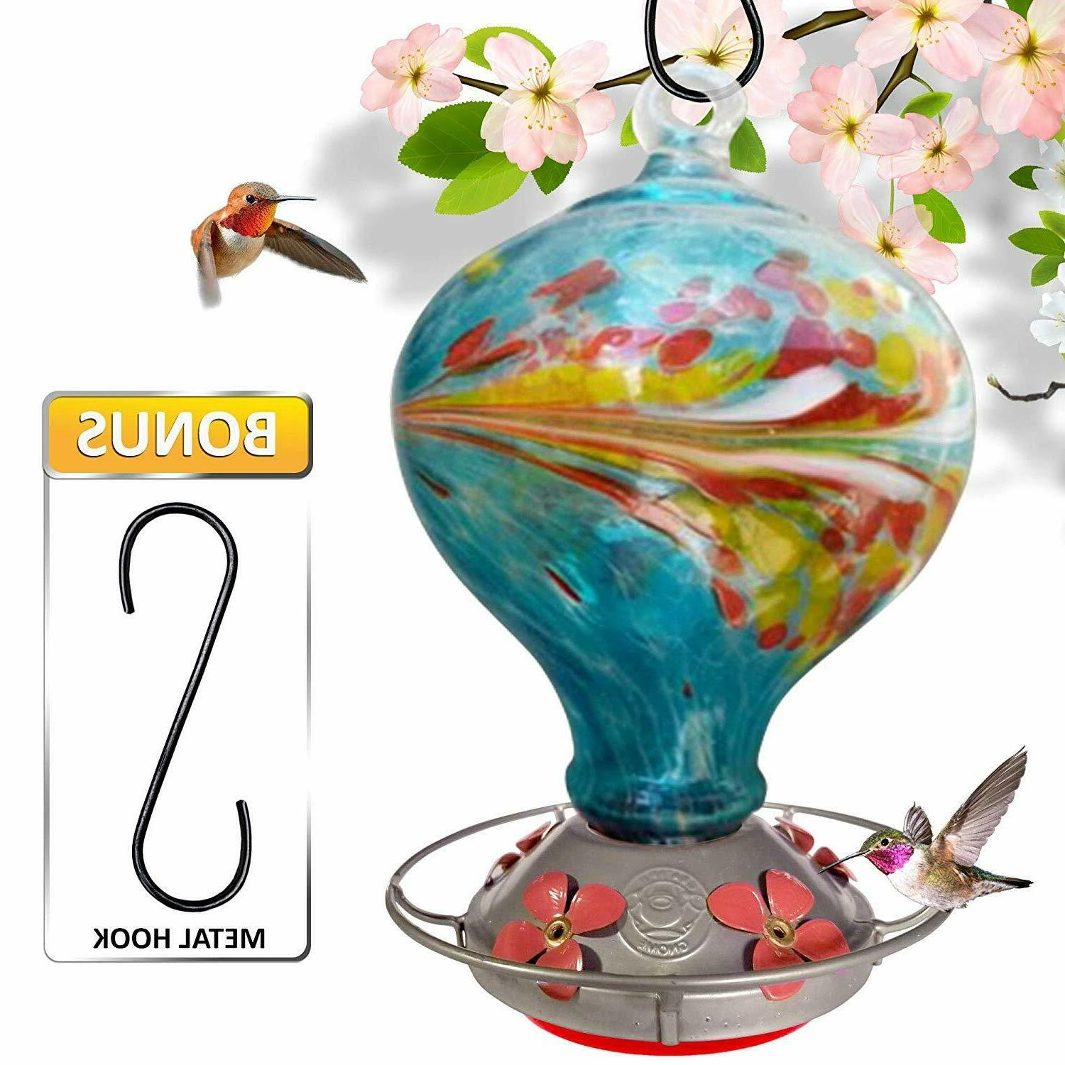 Grateful Gnome Feeder - Blown Glass with
