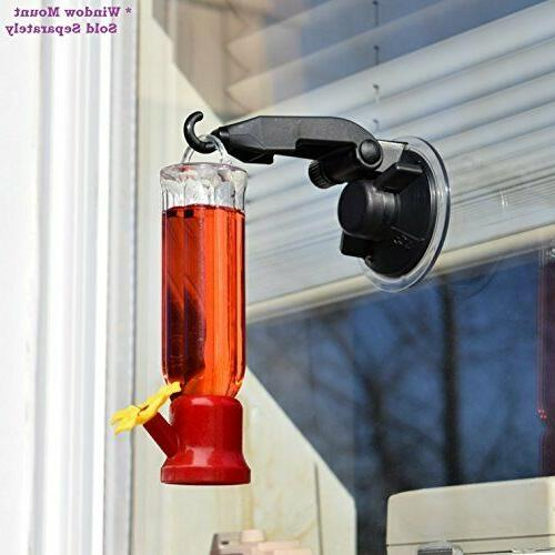 Hummingbird Feeder Suction Wild Flower Feed 4 Pack