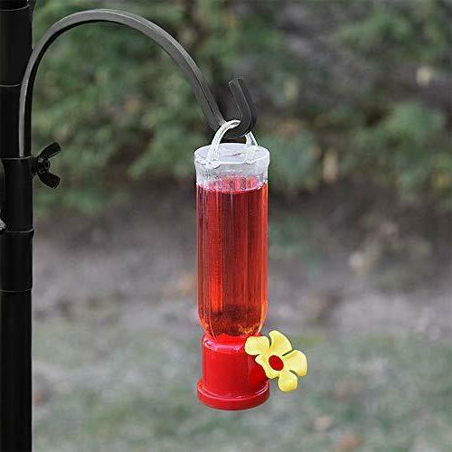 Hummingbird Feeder Window Mount Suction Flower Nectar 4 Pack