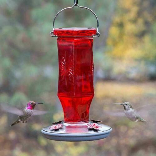 Perky-Pet Starburst Glass Feeder