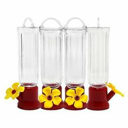 GrayBunny Mini Humming Bird Feeders, 4 Pack