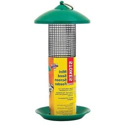 Stokes Select Mini Mesh Screen Bird Feeder with Metal Roof,