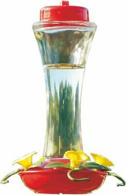 Audubon NA35231 Glass Hummingbird Feeder, 16-Ounce