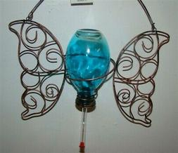NEW Capri Blue Butterfly Hummingbird Feeder for Your Garden