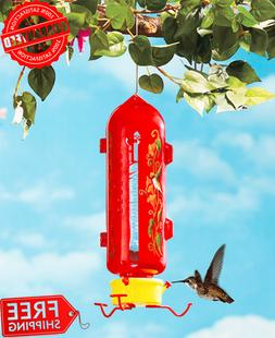 Outdoor Hummingbird Feeder Hanging Birds Feeding Cups Bacter