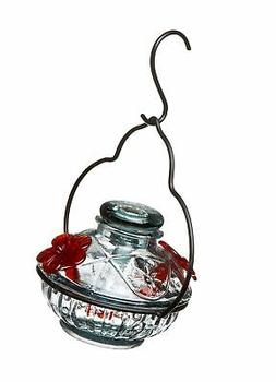 Parasol PDCCL Pot de Creme Hummingbird Feeder Clear