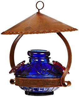 Parasol PDCSHB Pot de Creme Shelter Hummingbird Feeder Blue