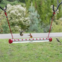 "Perky-Pet HUMMERBAR 24"" HUMMINGBIRD FEEDER with 22 PORTS, Fr"