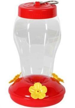 Garden Collection Plastic Hanging Hummingbird Feeder