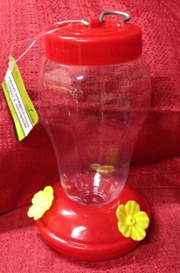 New Plastic Hanging Hummingbird Feeders, 6.75 in. Free Ship